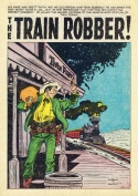 J-241 The Train Robber! Page 1 print